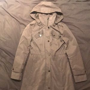 Kenneth Cole gray rain jacket